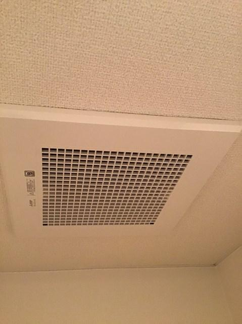 世田谷区マンション、トイレ換気扇交換